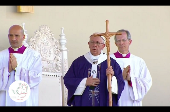 Homilía del Papa Francisco en Ciudad Juárez